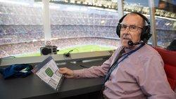 Mor Manel Vich, la veu del Camp Nou (GERMÁN PARGA-FCB)