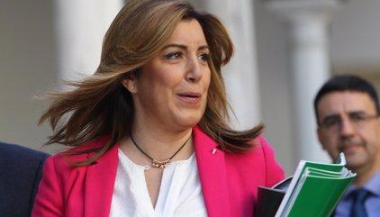 """Susana Díaz afea el """"postureo"""" y la """"farsa"""" de los últimos meses y dice que """"ayudará"""" a Sánchez ante el 26J"""