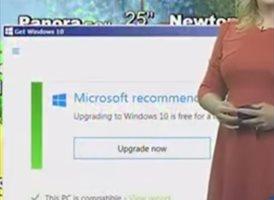 Microsoft recomienda actualizar a Windows 10 en plena previsión meteorológica