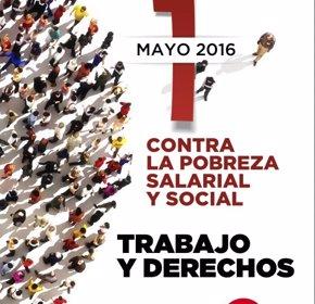 Foto: CC.OO. y UGT celebran mañana más de 76 manifestaciones en toda España (CC.OO. Y UGT)