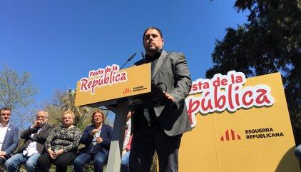 """Junqueras afirma que no permetrà que el TC passi per sobre de la """"voluntat democràtica"""""""