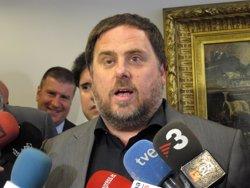 Junqueras diu que el Govern ha de defensar els drets socials més enllà del que digui el TC (EUROPA PRESS)