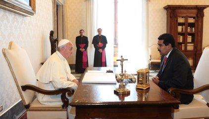 """El Papa escribe a Maduro para advertirle de la """"grave"""" situación en Venezuela"""