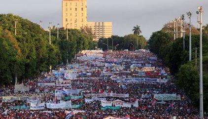 En imágenes: las protestas por el Día del Trabajo en Iberoamérica