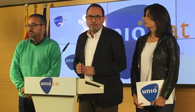 """Espadaler (Unió): el catalanisme està """"absent"""" al Congrés i hauria de ser protagonista (EUROPA PRESS)"""