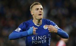 La premsa anglesa nomena futbolista de l'any Jamie Vardy (REUTERS)