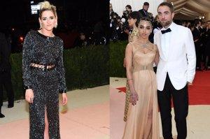Robert Pattinson y FKA Twigs se ven las caras con Kristen Stewart en la Gala Met