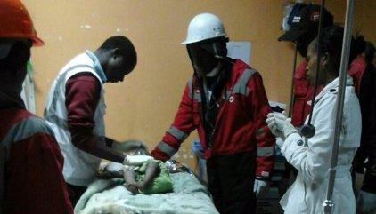 Rescatada amb vida una nena d'any i mig després de quatre dies sepultada a Nairobi