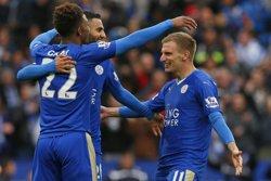 El Leicester, campió de la Premier League després de l'empat (2-2) del Tottenham (REUTERS)