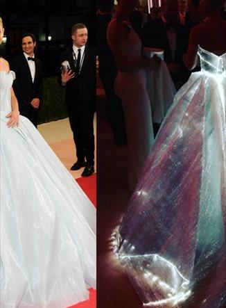 ¿Cómo consiguió Claire Danes brillar en la Gala Met?