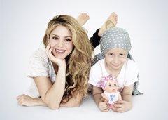 Shakira se une contra el cáncer y diseña el nuevo Baby Pelón