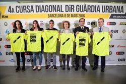 La IV Cursa Dir-Guàrdia Urbana reunirà aquest diumenge més de 9.000 corredors a Barcelona (MARC MEDINA/DIR)