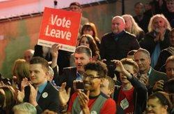 La permanència a la UE per davant al Regne Unit tot i que el 'Brexit' guanya terreny (CHRISTOPHER FURLONG)