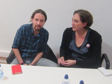 Pablo Iglesias i Ada Colau s'estrenaran en les jornades del Cercle d'Economia a Sitges (EUROPA PRESS)