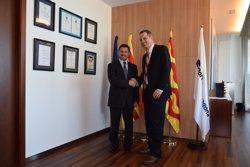 El Port de Tarragona rep el cònsol dels Estats Units (PUERTO DE TARRAGONA)