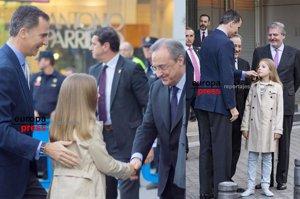 La Infanta Sofía, el mejor talismán del Real Madrid