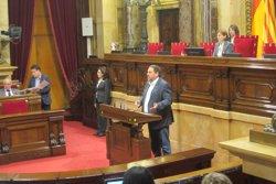 CDC i ERC es divideixen un altre cop al Parlament en una votació sobre la reforma laboral (EUROPA PRESS)