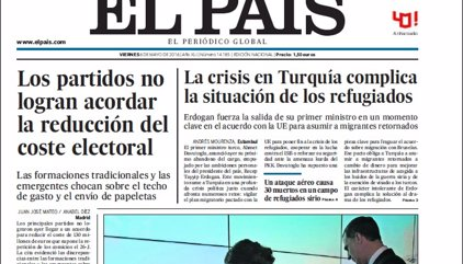 Las portadas de los periódicos de hoy, viernes 6 de mayo de 2016