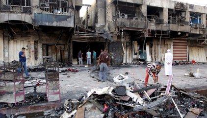 Mueren cinco personas tras explotar una bomba en un cementerio en Irak
