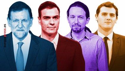 El PP redueix a 5,8 punts l'avantatge sobre el PSOE, C's puja i Podem baixa