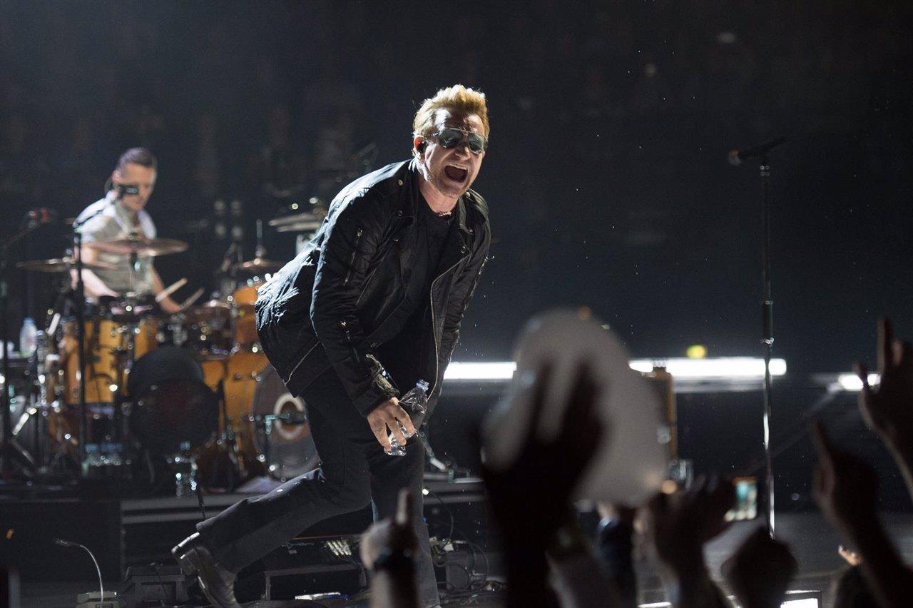 France - U2 at Bercy Accordhotels Arena in Paris