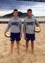 Foto: Jugadores de centro de voley playa de Laredo logran tres medallas en el Circuito Escolar