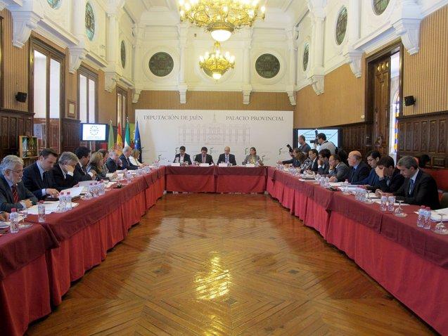 Foto: La presidenta de la Diputación de Cáceres asiste en Jaén a la Comisión de diputaciones, cabildos y consejos insulares (REMITIDA)