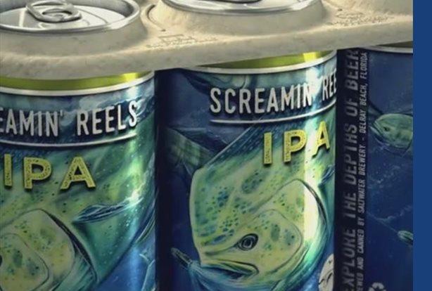 Crean un pack de cervezas con anillos biodegradables para beber sin dañar el medio ambiente SALT WATER BREWERY