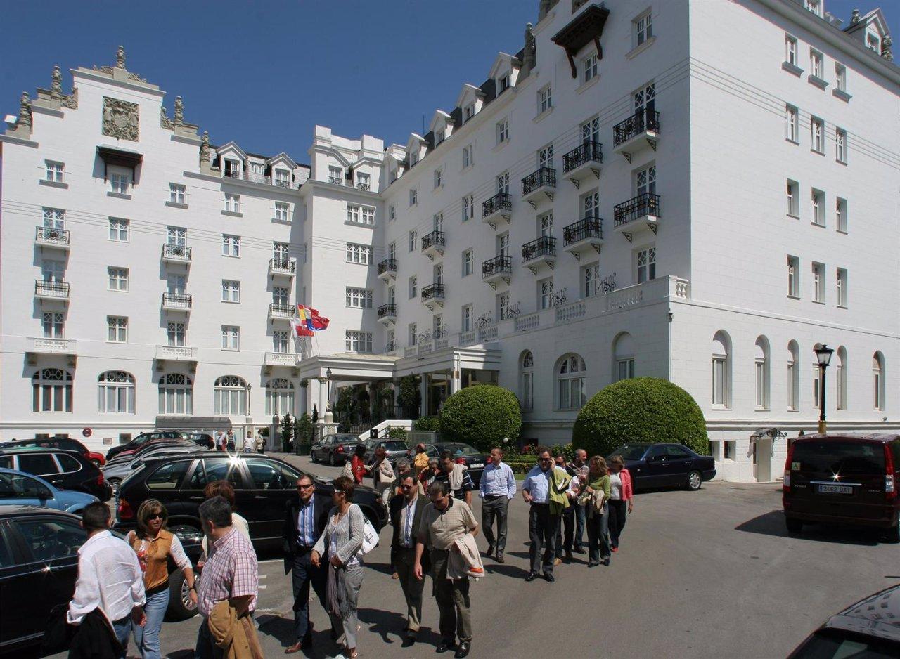 hoteles santander sardinero: