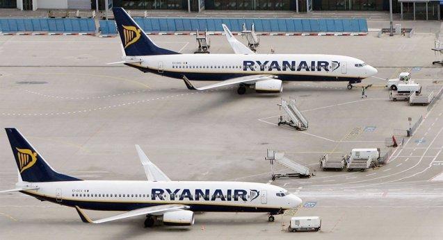Foto: Ryanair dispara sus ganancias un 43% en su último ejercicio fiscal (RALPH ORLOWSKI/GETTY)