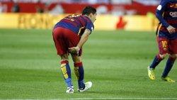 Luis Suárez, lesionat al semimembranós, acudirà a la concentració de l'Uruguai (FCB)
