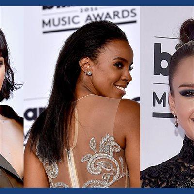 Foto: Cinco momentos beauty para recordar de los Premios Billboard (RIHANNA, KELLY ROWLAND, JESSICA ALBA/ GETTY)