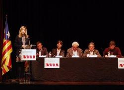 L'AMI recorda a Forcadell el seu suport a una Catalunya independent (EUROPA PRESS)