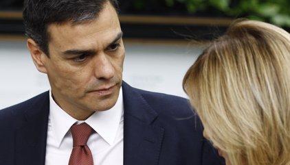 """Sánchez diu que el PSC ha entrat a l'Ajuntament per """"redreçar el rumb"""" i no per """"rescatar Colau"""""""