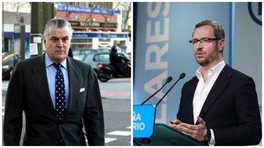 Bárcenas declara per injuriar funcionaris de presons i Maroto (PP) per dir-li delinqüent (EUROPA PRESS)