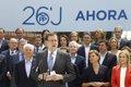 RAJOY ADVIERTE A UN MES DE LAS ELECCIONES: LA RADICALIDAD ES REAL EN ESPANA