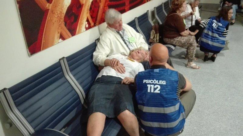 El aeropuerto de Menorca realiza un simulacro de asistencia a las familias de víctimas de accidente aéreo