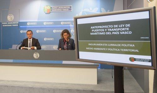 Gobierno vasco retira el proyecto de Ley de Puertos por falta de consenso