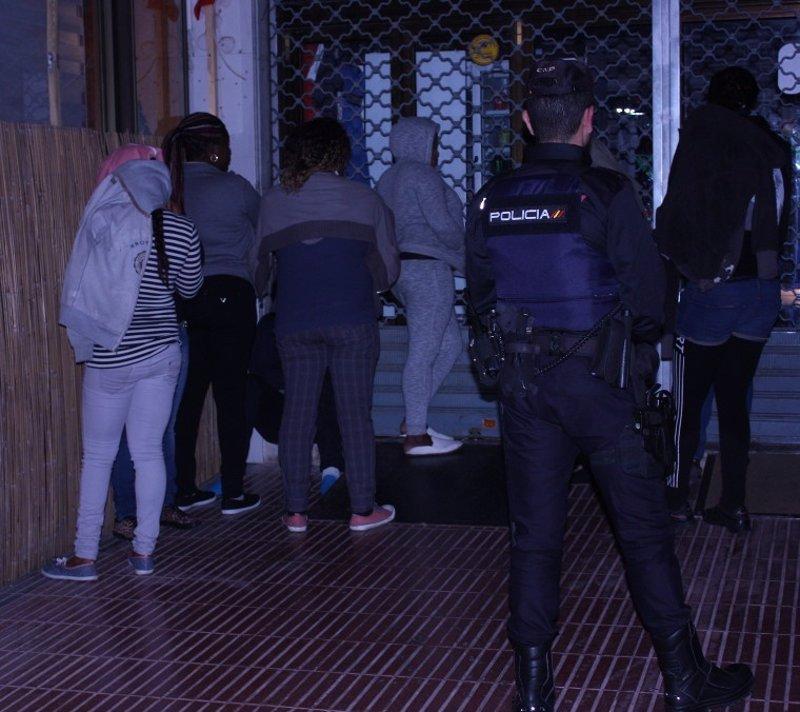 Ascienden a 7 los detenidos por explotar sexualmente a mujeres nigerianas en Palma e Inca