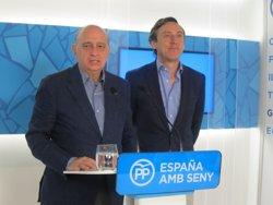 Fernández Díaz defensa que el Govern espanyol ha invertit 6.237 milions en el corredor (EUROPA PRESS)