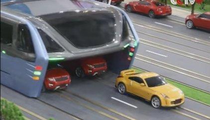 ¿Así será el autobús del futuro? China dice que podría tenerlo listo para finales de año