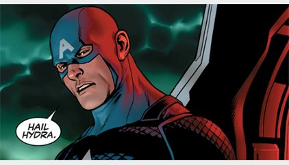 El Capitán América, ¿un agente de Hydra?