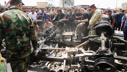 Mueren cuatro personas en tres atentados en Bagdad y sus alrededores