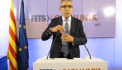 """Homs, sobre l'acord amb la CUP: """"De moment no està trencat, però hi ha interrogants"""""""