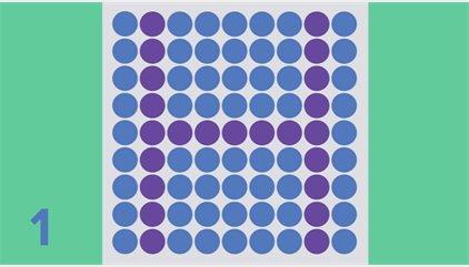 ¿Cuántas letras eres capaz de ver en este test?
