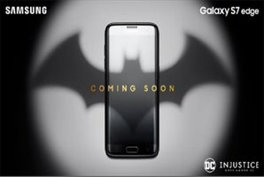 Samsung anuncia una edición limitada del Galaxy S7 Edge Batman