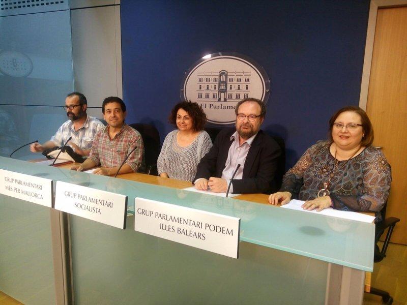 Los grupos de izquierdas llevan al Parlament los problemas laborales de los empleados de los aeropuertos de Baleares