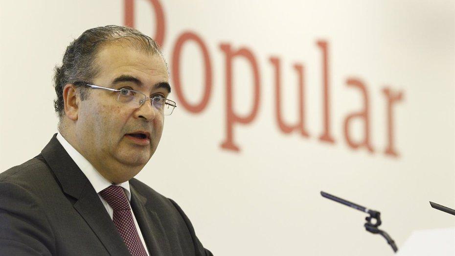 """Foto: Ángel Ron (Popular): """"La ampliación de capital es un ejercicio de anticipación"""" (EUROPA PRESS)"""