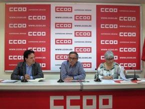 """Foto: CC.OO denuncia el aumento del reparto irregular de la jornada y del trabajo """"a turnos"""" con la reforma laboral (EUROPA PRESS)"""