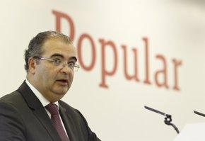 Foto: Popular se desploma un 26,5% tras anunciar una ampliación de capital y suspender dividendo (EUROPA PRESS)